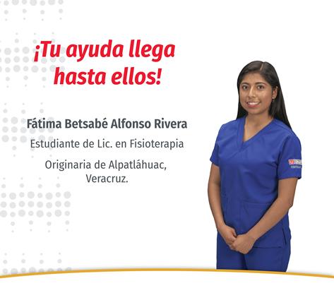 Fatima Betsabé Alfonso Rivera
